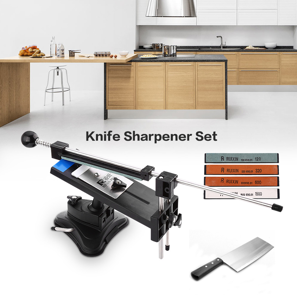 Ruixin Pro II Chef Knife Grinding System Pencil Apex Edge Sharpener With 4 Whetstone Professional Chef Knife Sharpener ON SALE