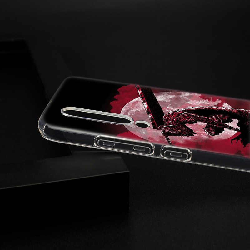 Anime Berserk Guts Yumuşak silikon kılıf için Xiaomi mi Pocophone F1 mi 5X A1 6X A2 8 SE Lite OYUN mi x3 9 9SE 9T Pro CC9 Kapak