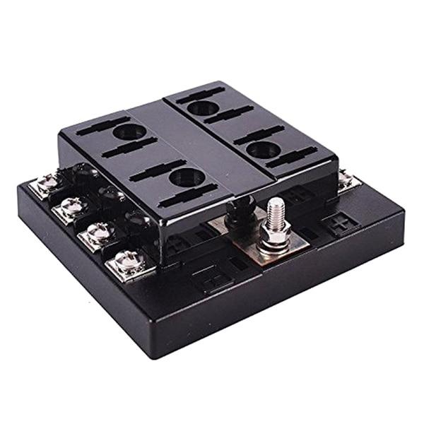 JFBL Hot 32V Car Boat 6 Way Circuit Standard ATO ATC Blade Fuse Box Block Holder 40a blade contact fuse link base holder nt00 500v 120ka 660v 50ka