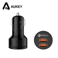 AUKEY Qualcomm Quick Charger 2 0 5V 9V 12V 2 Ports Mini Fast Charger USB Charge