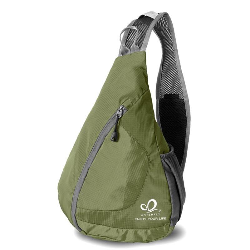 Bolsa de Mensajero impermeable Equipo de Camping Al Aire Libre Deporte Nylon Vad