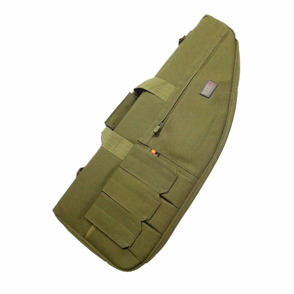 Bolsa de Arma táctica Rifle Caso Paintball Combate Militar Mochila Bandolera Bol