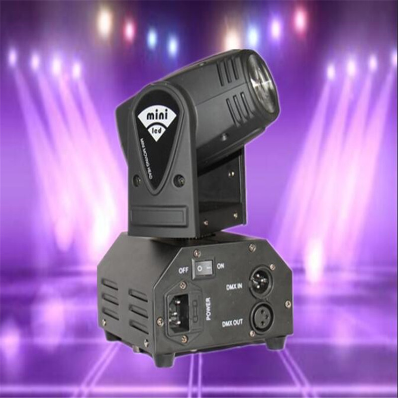 CREE 12W RGBW 4in1 moving head DMX512 light beam LED spot Lighting Show Disco DJ Laser Light Bar KTV lights mini laser stage led 10w disco dj lighting 10w led spot gobo moving head dmx effect stage light holiday lights