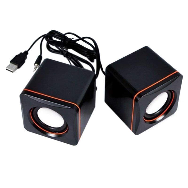 1 Satz 3,5mm Audio Multimedia Lautsprecher Mini Tablet Pc Computer Notebook Lautsprecher Box Usb Wired Desktop Lautsprecher Musik Player