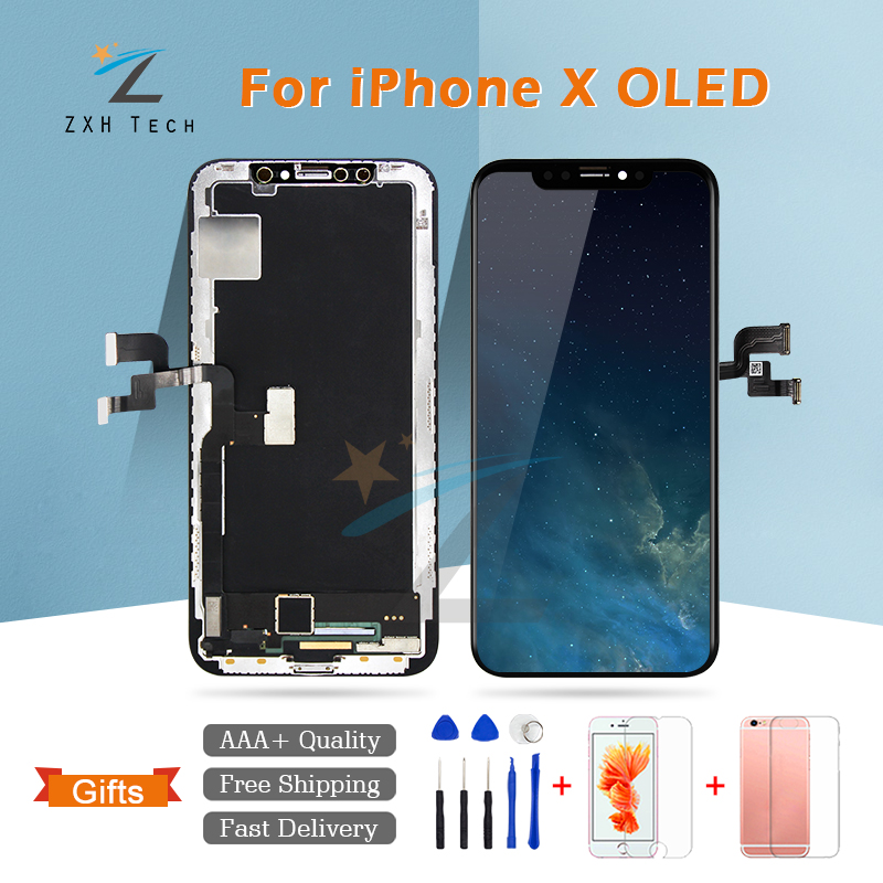 LCD for iPhone X Screen Display with 3D Touch Screen Digitizer Assembly for iPhone X Display