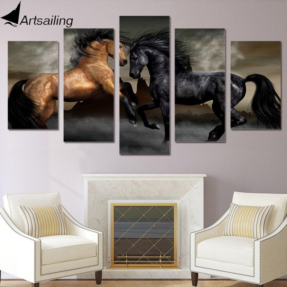 Online Kaufen Großhandel Braun Bilder Aus China Braun Bilder ... Wohnzimmer Schwarz Braun