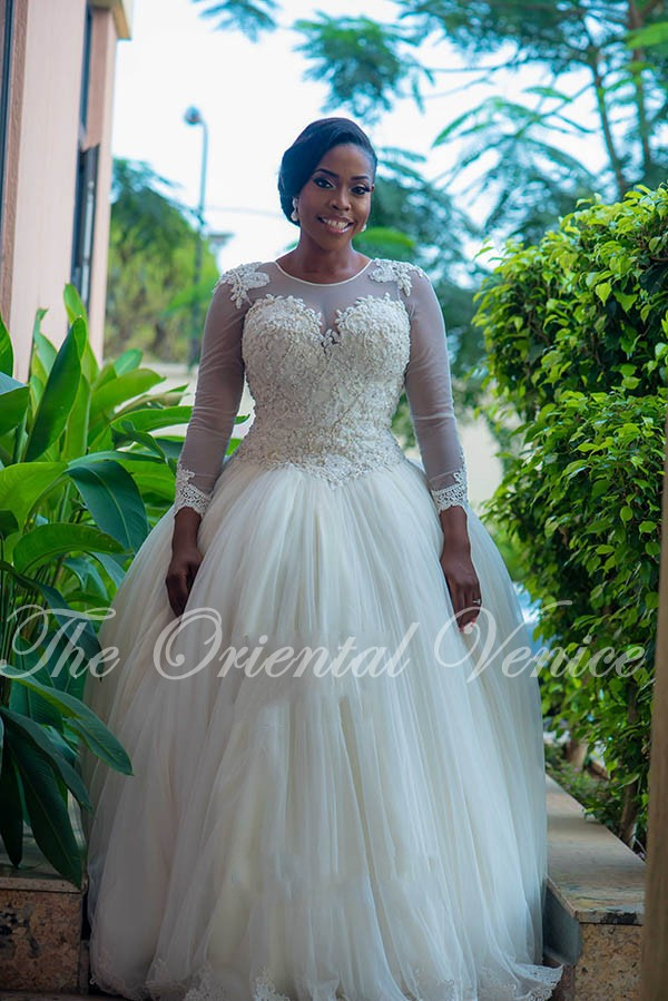 Custom made ball gown african wedding gowns plus size long for Plus size african wedding dresses