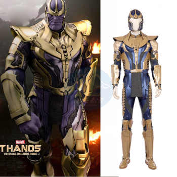 Avenger 4 Thanos Cosplay Costume Thanos Jumpsuit Battle Suit Men Halloween Christmas Carnival Party Clothes - DISCOUNT ITEM  0% OFF All Category
