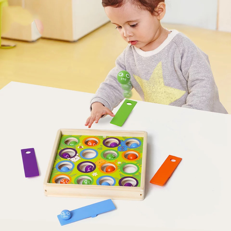 Early Learning Aid Education Wooden Ball Toys Montessori ...