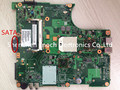 Para toshiba satellite l305d l300d laptop motherboard totalmente teste 6050a2175001-mb-a02, sata interface do dvd, enviar amd cpu livre
