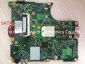 Para toshiba satellite l305d l300d placa madre del ordenador portátil completamente prueba 6050a2175001-mb-a02, interfaz sata dvd, enviar amd cpu envío