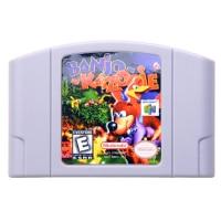 N64Game Banjo Kazooie Video font b Game b font Cartridge font b Console b font Card
