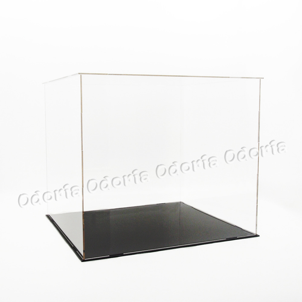 ship from us odoria clear uv acrylic self assembly display. Black Bedroom Furniture Sets. Home Design Ideas
