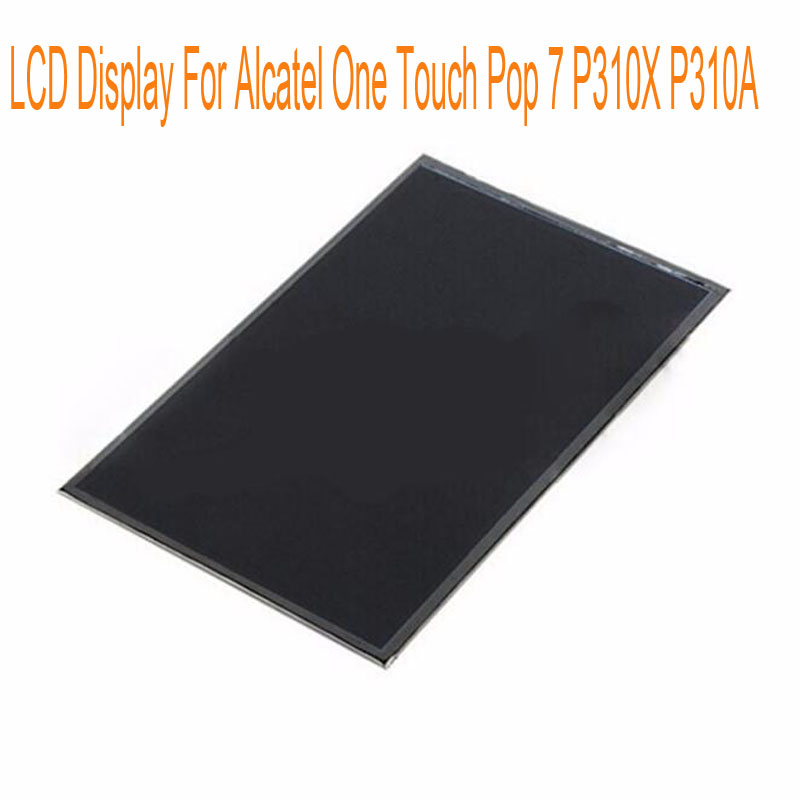 For Alcatel One Touch Pop 7 P310X P310A 7 0 Black LCD Display Without Touch Screen