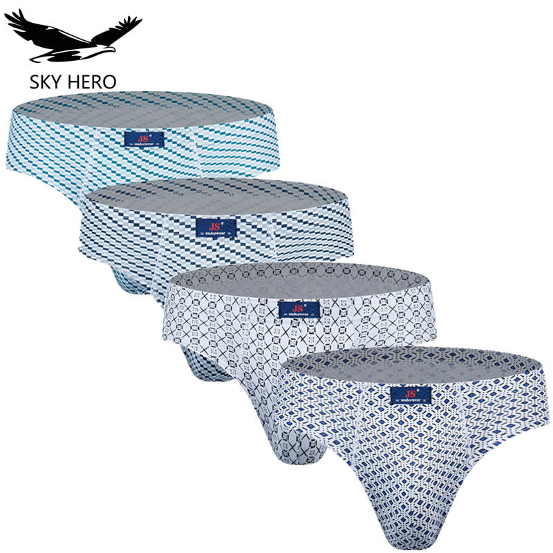 4pieces/lot 100% Cotton Underpants For Male Mens Briefs Men's Underwear Men Panties Man Brief Soft Fashion Pant Men Sexy Shorts
