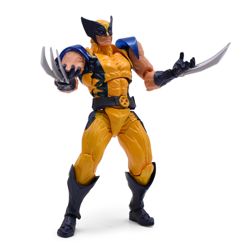 14 cm Western Animiation Hot Doll X-MEN Wolverine Action SHFigure PVC Collectible Model Toy Christmas Gift For Children