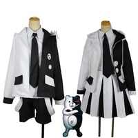 2019 High Quality Danganronpa 2 The End Of Hope College The Cold Blooded Monokuma Cosplay Costume