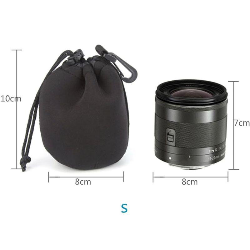 YOKING Custodia impermeabile Shockproof Neoprene Camera Case Lens Custodia Full Size for Nikon for Sony
