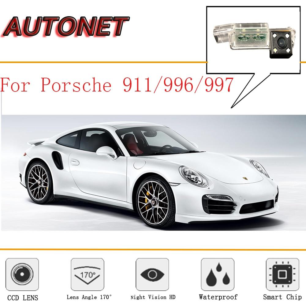 AUTONET Rear View camera For Porsche 911 / 996 / 997 / 991 /CCD/Night Vision/Reverse Camera/Backup Camera/license plate camera