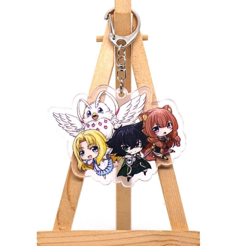 Anime The Rising of the Shield Hero Raphtalia Filo Acrylic Keychain Keyring