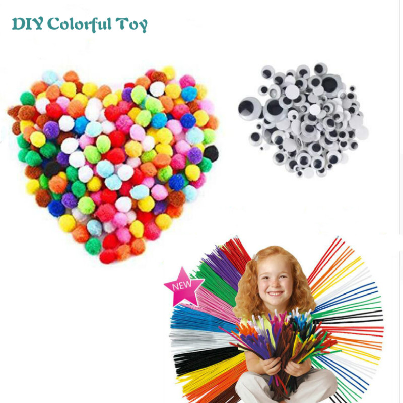 Plush Sticks Puzzle DIY Toys Montessori Materials Handmade Gift Toy For Children Kids Child Girl  Education Toys Wholesale