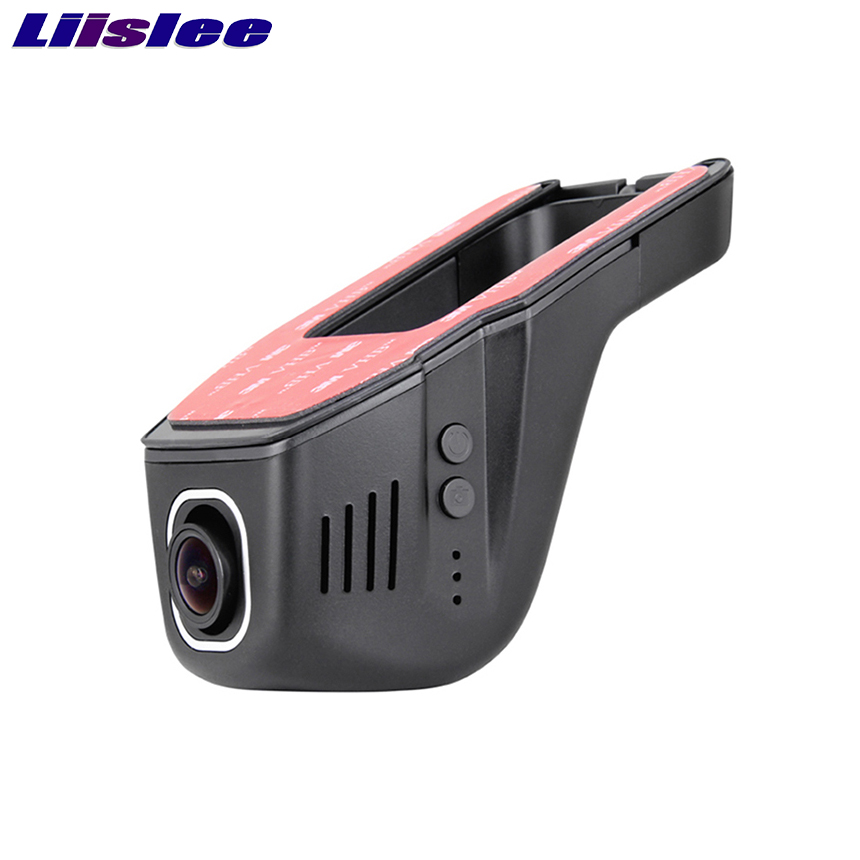 LiisLee Car DVR Mini Wifi Front Camera Driving Video Recorder Dash Cam Original Style Night Vision bigbigroad for land rover discovery sport car wifi dvr video recorder front camera dash cam car black box night vision