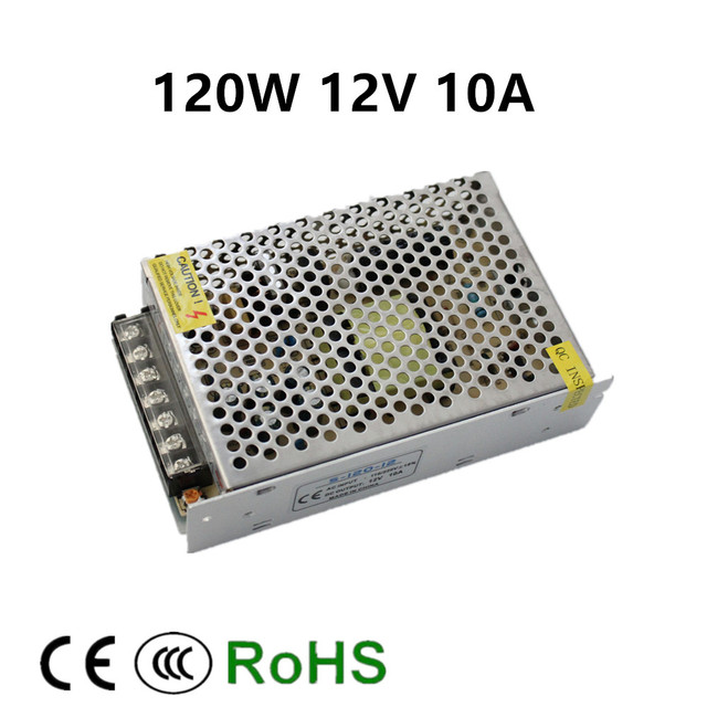 12v 10a 120w switching power supply driver for led light strip 12v 10a 120w switching power supply driver for led light strip display ac100 240v factory mozeypictures Choice Image
