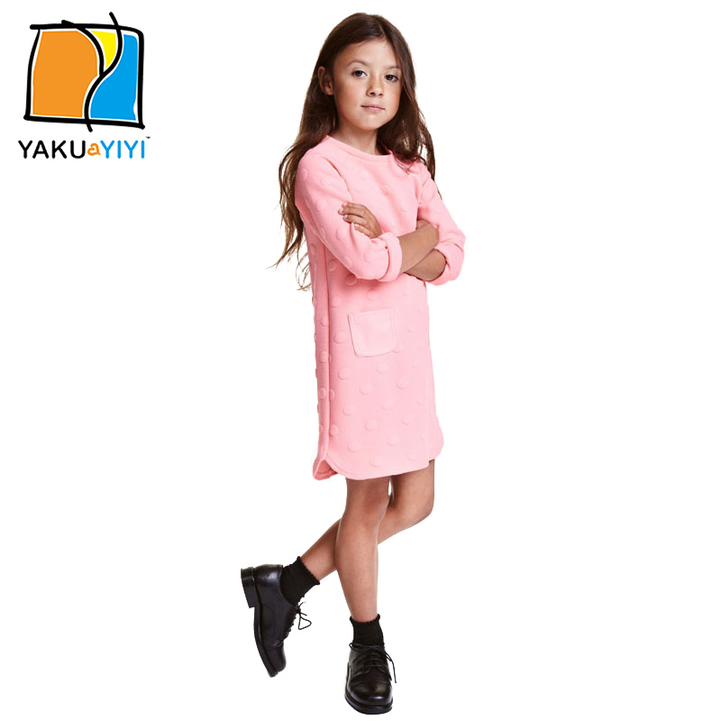 Baby Girl Pink Long Sleeve Dress