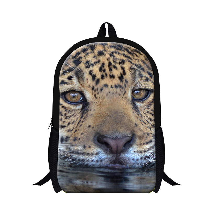 Personalized Tiger 3D printing backpacks for teen boys,childrens cool school bookbags,day back pack for College students bags
