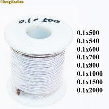 Partage de câbles de fil en cuivre et polyester émaillé, 0.1x500, 0.1x540, 0.1x600, 0.1x700, 0.1x800, 0.1x1000, 0.1x1500, 0.1x2000