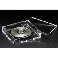 Acrylic Jewelry Display CD Storage Hair Accessories Box With Magnetic Lids