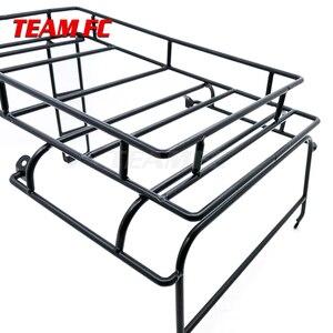 Image 5 - מתכת גג מתלה מטען Carrier עבור 1/10 RC Crawler רכב RC4WD D90 גוף פגז חלקי S343