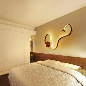 Image 3 - Luminária de teto moderna led, novidade, superfície, montada, para sala de estar, quarto, para áreas internas, decorativa, lâmpada de teto