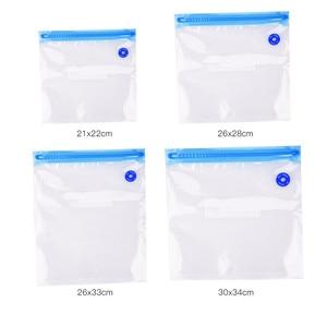 5 PCS Kitchen Food Sealing Machine Packages Bags For Vacuum Packaging Seal Bags Food Saving Vacuum Bag Storage HB146