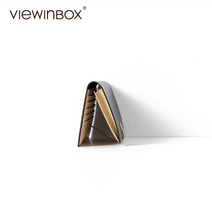 viewinbox gado dividir carteira zip Composição : Split Cattle Leather