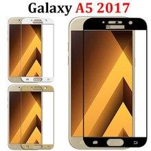 Szkło ochronne na Samsung Galaxy A5 2017 szkło do Samsung A3 A7 2017 Galax Samsung A3 2017 A8 szkło hartowane Tremp Film