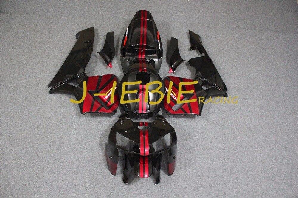 Black red Injection Fairing Body Work Frame Kit for HONDA CBR600RR CBR 600 CBR600 RR F5 2005 2006