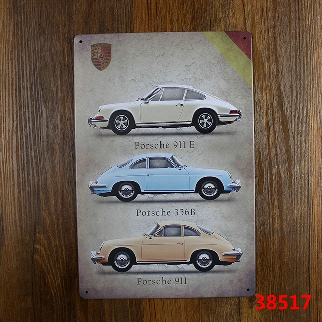 Us 5 0 Classic Car Tin Signs Vintage Metal Plate Wall Decoration For Home Bar Cafe Garage And So On In Plaques Signs From Home Garden On
