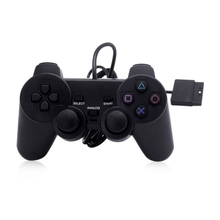 2018 Fashion Wired Controller Double Shock Remote Joystick Gamepad Joypad for PlayStation 2 PS2