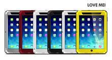 Stoßfest staub/dirt/schnee proof aluminium gorilla glas integrierte displayschutzfolie case abdeckung für apple ipad mini 1 2 3