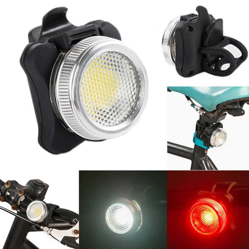 Bike Rear light Bicycle led front bike lights  COB LED Tail Light D50