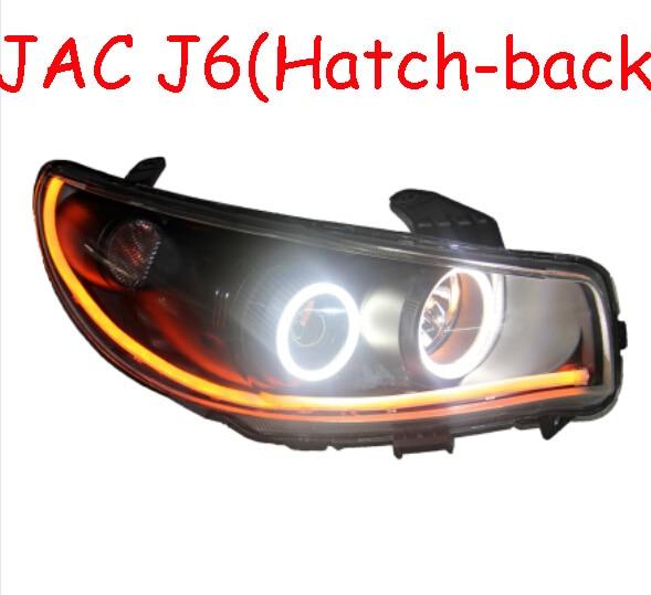 JAC J5 headlight,hatch-back car,HeYue,RS,Fit for LHD,Free ship! JAC J5 fog light,2ps/set+2pcs Aozoom Ballast; J5,JAC RS jac fitz enz predictive analytics for human resources