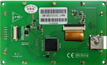DMT48270C043_04WN 4.3 Inch DWIN Command Screen Singlechip LCD Serial LCD