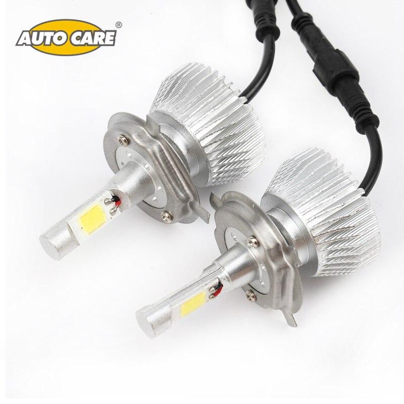 2x LED H4 H13 9004 9007 Car Headlight Bulbs 12V 6000LM Hi/Lo Beam Kit Light Source Fog Light Lamp Daytime Running Light