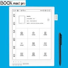 ONYX BOOX MAX2 PRO lecteur de livres électroniques Double touche HD Flexible Carta écran lecteur de livres électroniques 4G/64G 13.3 BT 4.1 Android 6.0 e lecteur