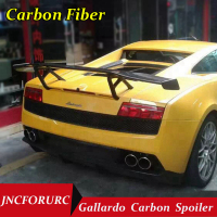 JNCFORURC Rear Trunk Car Spoiler For LP550 LP560 LP570 Carbon Fiber Material Spoiler Wing For Lamborghini