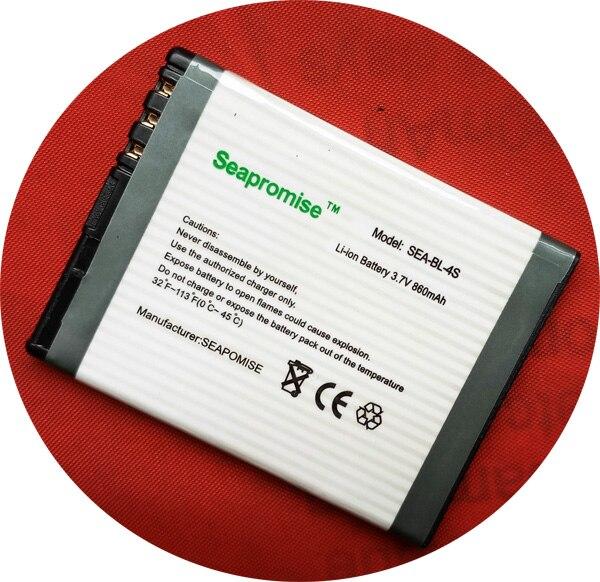 Freeshipping Retail battery BL-4S BL 4S BL4S for Nokia 2680 slide, 3600 slide,3710 fold, 7020, 7100 Supernova,  7610 Supernova,