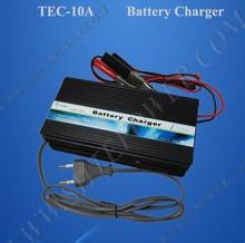 Батарея автомобильное зарядное устройство 12 В, 12 В Батарея зарядное устройство свинцово-кислотный, 220 В 12 В DC 10A тесто зарядные устройства