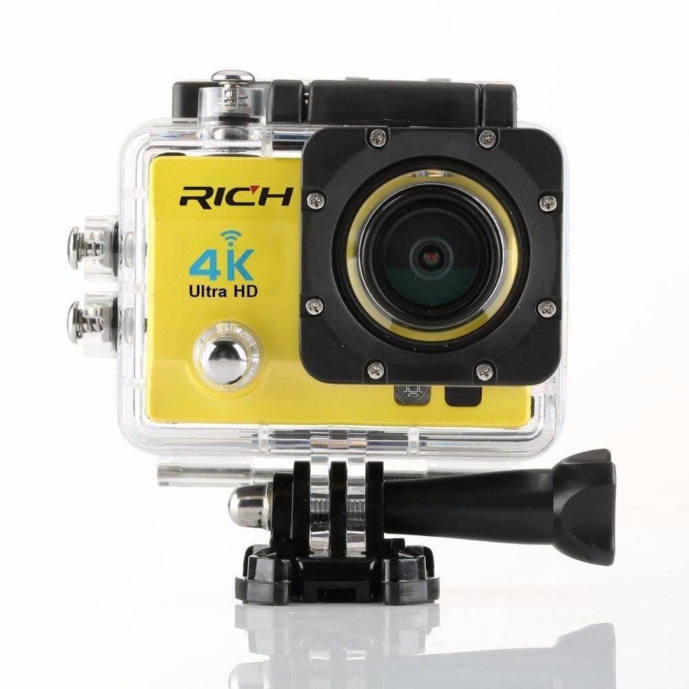 REICHE Q5H pro Action kamera Ultra HD 4 Karat WiFi Volle 1080 P 60fps Tauchen unterwasser go wasserdichte Helmkamera Sport action kameras