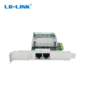 Image 5 - LR LINK 9712HT Çift Bağlantı Noktalı Gigabit Ethernet Lan Kartı Pci express Ağ Kartı RJ45 adaptörü 10/100/1000 mb Intel I350 T2 Uyumlu